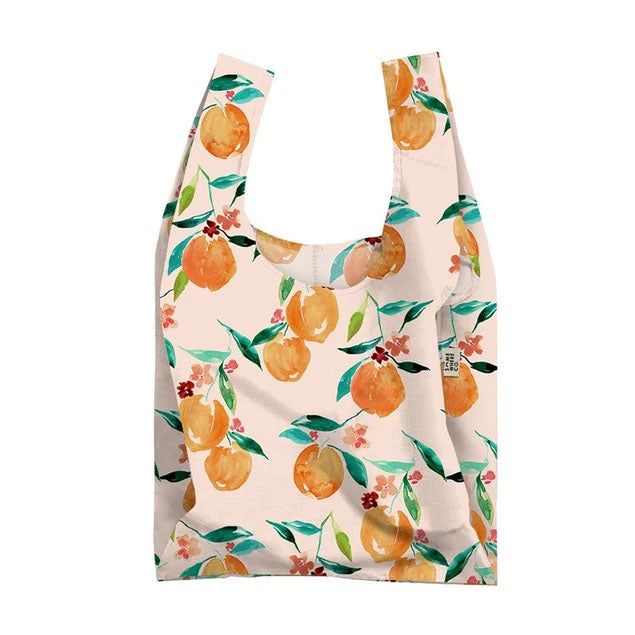 Orange Blossom Reusable Shopping Bag