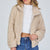 Fluffy Teddy Jacket (Beige)