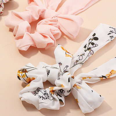 Tie Up Bow Scrunchie