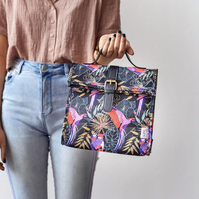 Tropical Birds Lunch Satchel