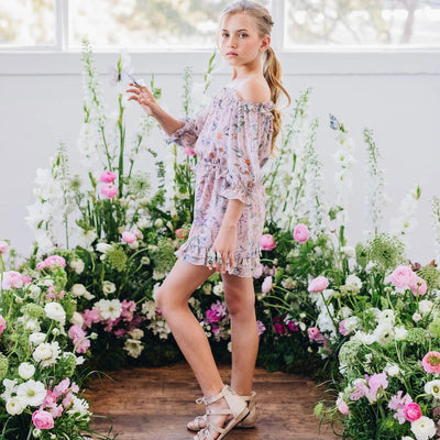 Alyssa Floral Playsuit