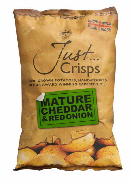 Just Crisps - Mature Cheddar & Red Onion