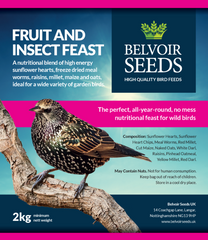 Fruit & Insect Feast (2kg)
