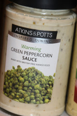 Green Peppercorn Sauce - Atkins & Potts