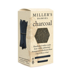 Millers Damsels Charcoal Handbaked Wafers