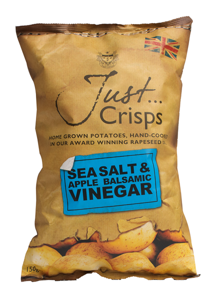 Just Crisps - Sea Salt & Apple Balsamic Vinegar