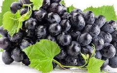 Black or Red Grapes (seedless)