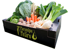 Our largest veg box, filled with fresh British produce