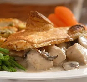Chicken and Field Mushroom Pie