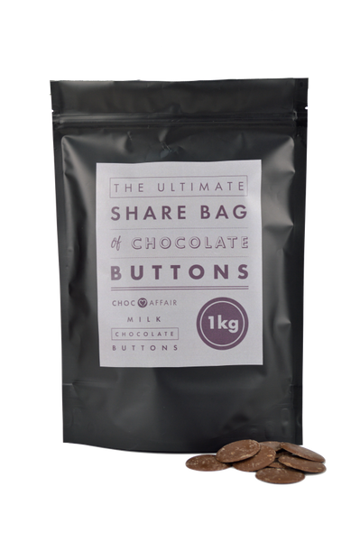Ultimate Share bag of Giant Milk Chocolate Buttons (1kg)