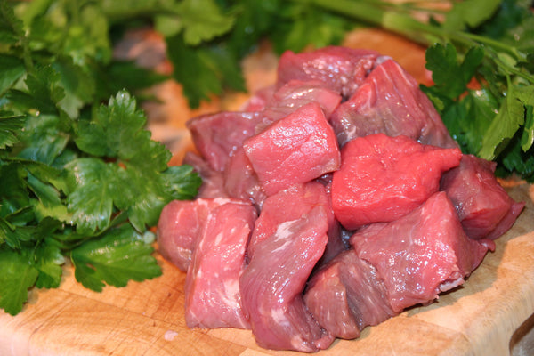 Hand Diced Beef Stewing Steak (750g)