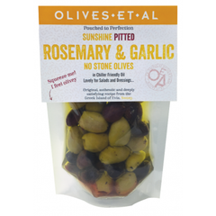 Pitted Rosemary & Garlic Olives