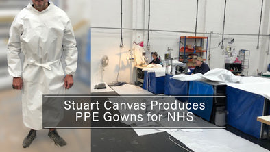 Stuart Canvas Group Produces Gowns for the NHS