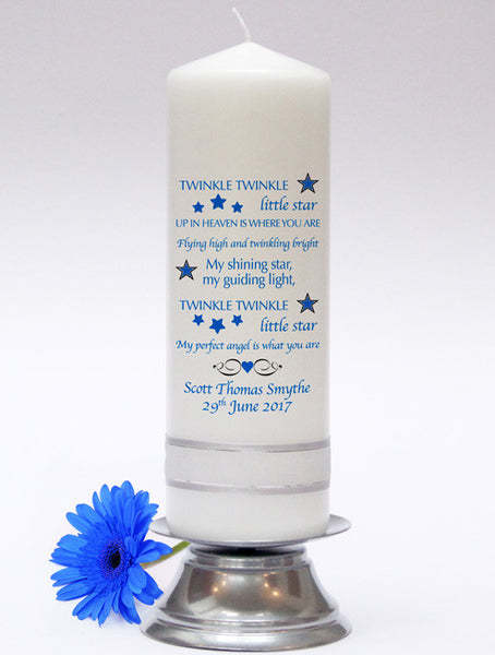 Infant Loss Baby Candle