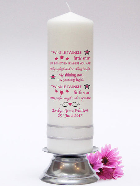 Infant & Child Memorial Candle