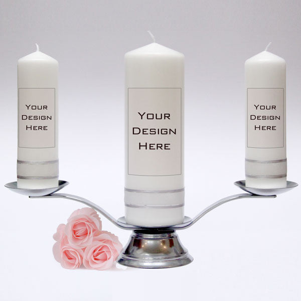 Create and design your very own personalised Wedding Candles. Unity Candles & Candle Sets made in UK.