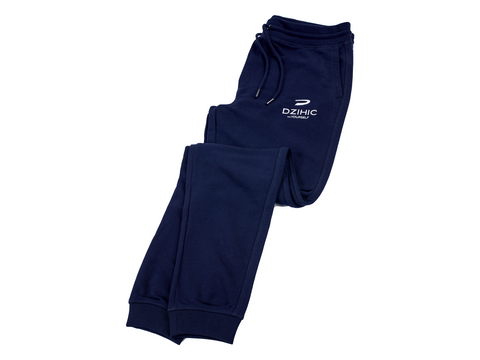 Men's Sustainable Joggers Navy Blue - Dzihic