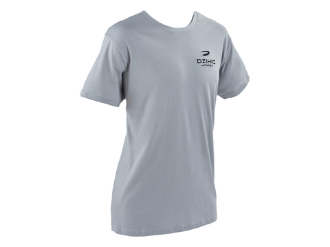 Men's Essential Cotton T-Shirt Grey - Dzihic