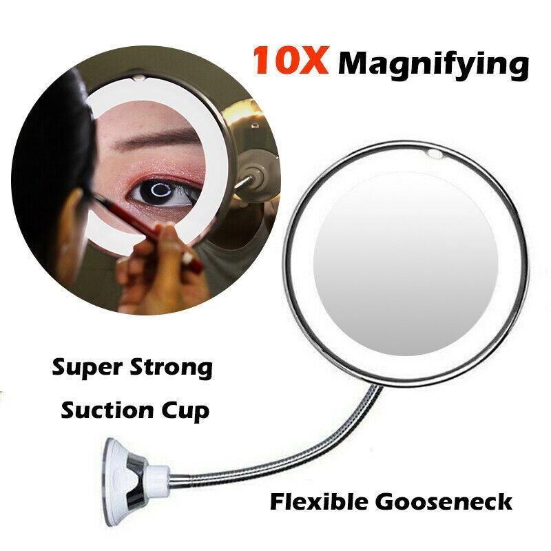10x Magnifying LED Mirror - WowGoBuy