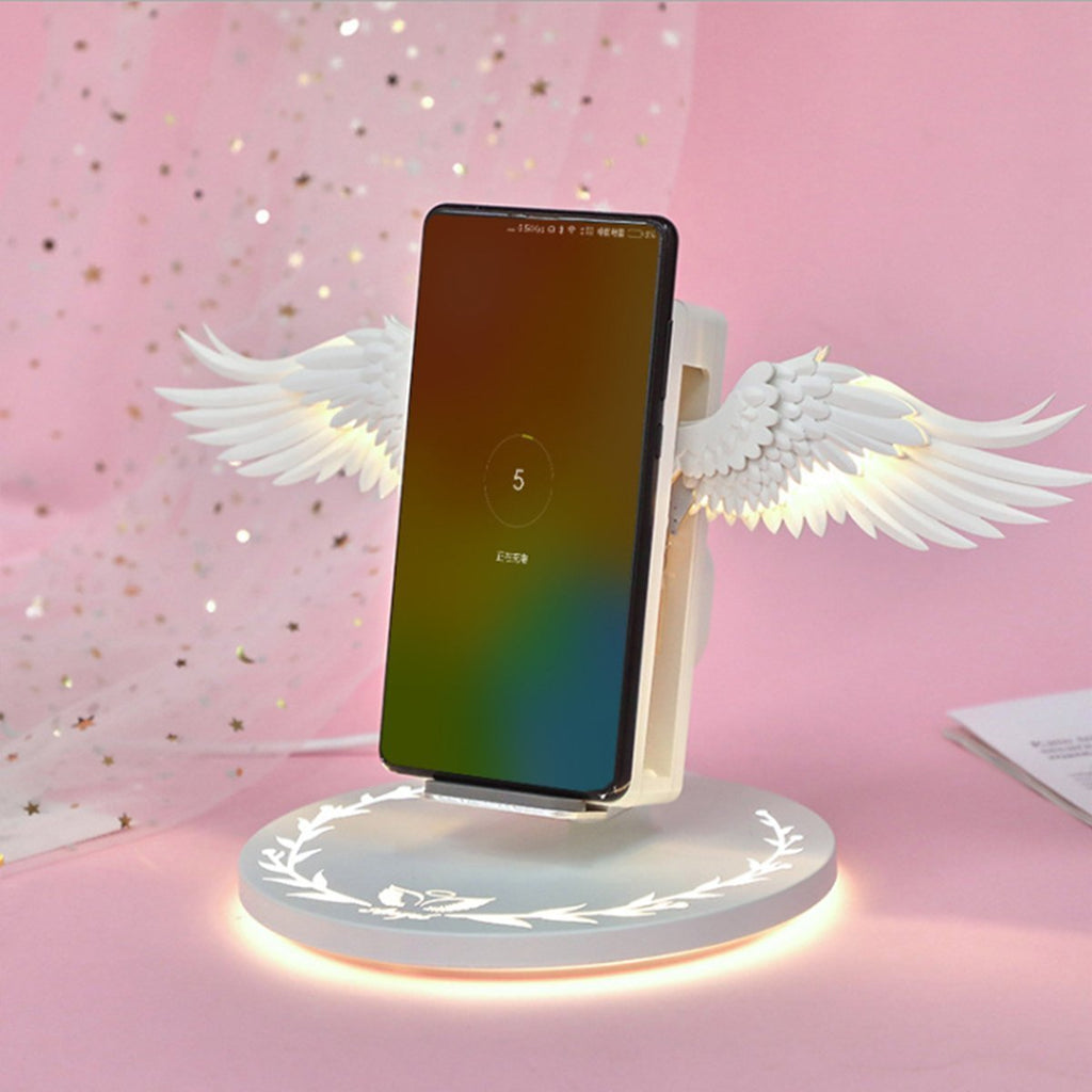 Angel Wings Wireless Charger - WowGoBuy