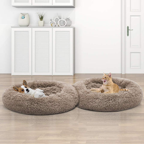 Image of Faux Fur Pet Bed - WowGoBuy