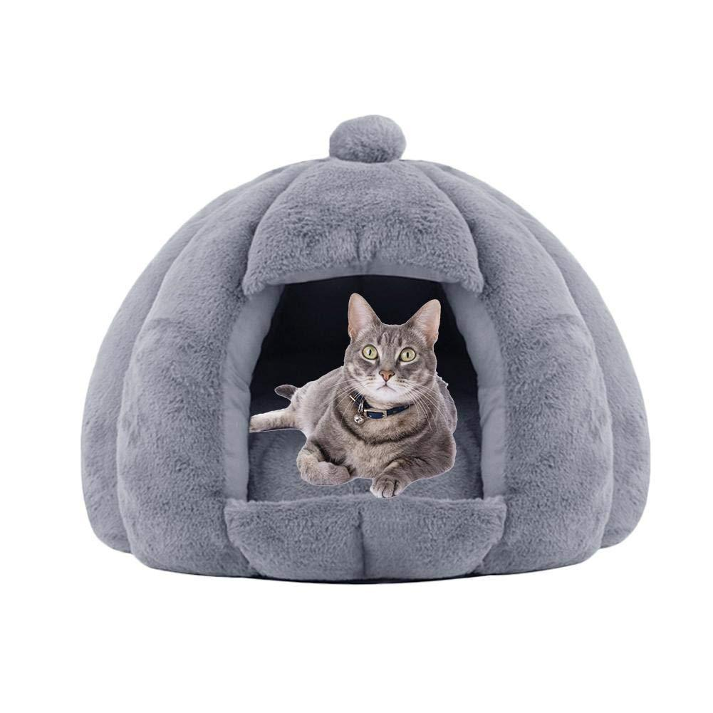 Plush Cat Cave Bed - WowGoBuy