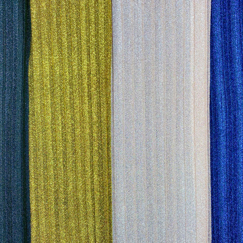 Sparkle Pleating 6 colors