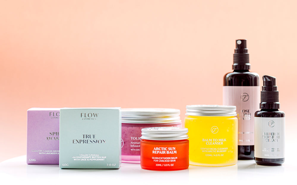 Flow Cosmetics arrives at A Beautiful World