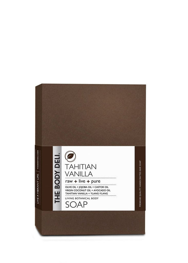 Tahitian Vanilla Botanical Bar Soap