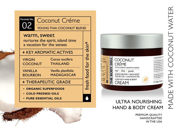 Coconut Creme Hand & Body Cream