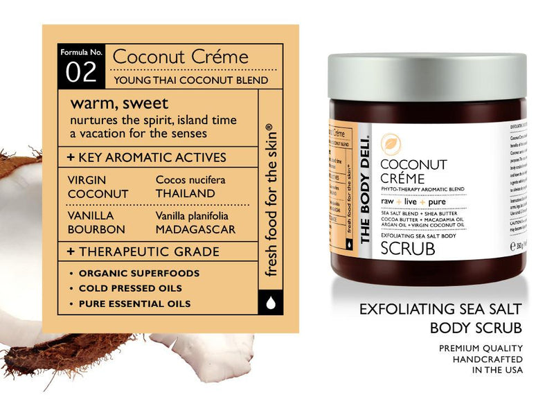 Coconut Creme Body Scrub