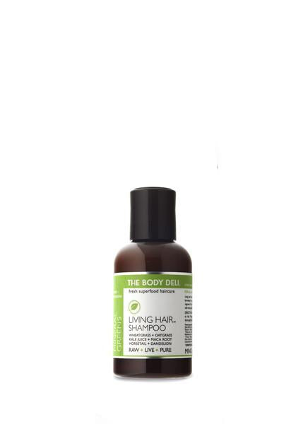 Living Hair Sprouted Greens Shampoo