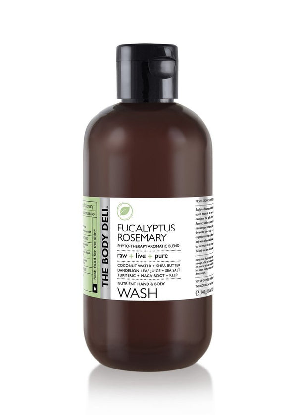 LIMITED EDITION Eucalyptus Rosemary Body Wash
