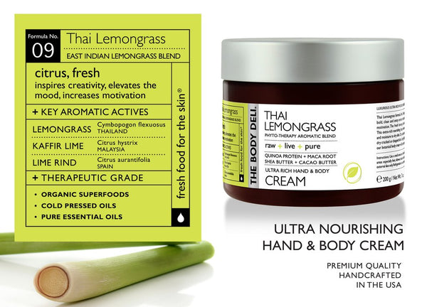 Thai Lemongrass Hand & Body Cream
