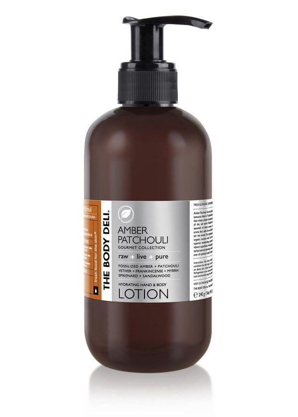 Amber Patchouli Hand & Body Lotion