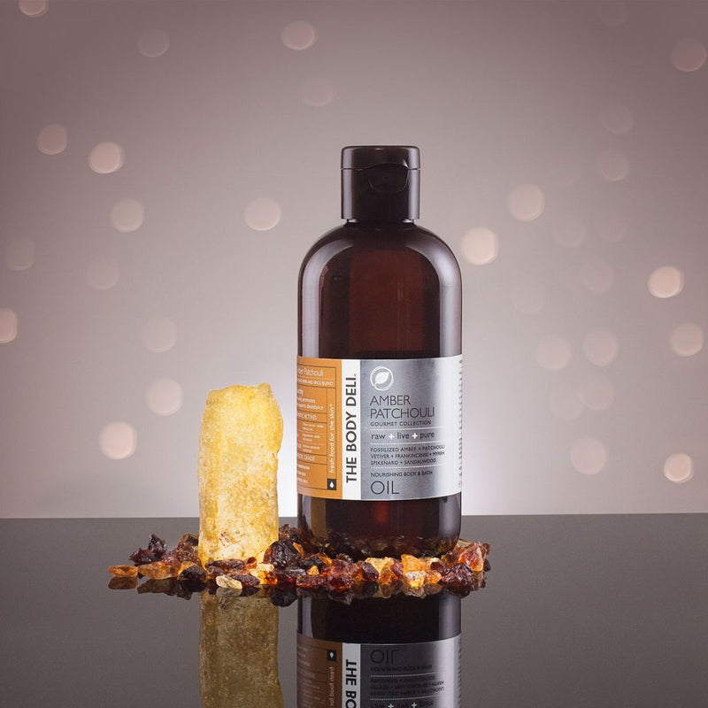 Amber Patchouli Gourmet Body and Bath Oil