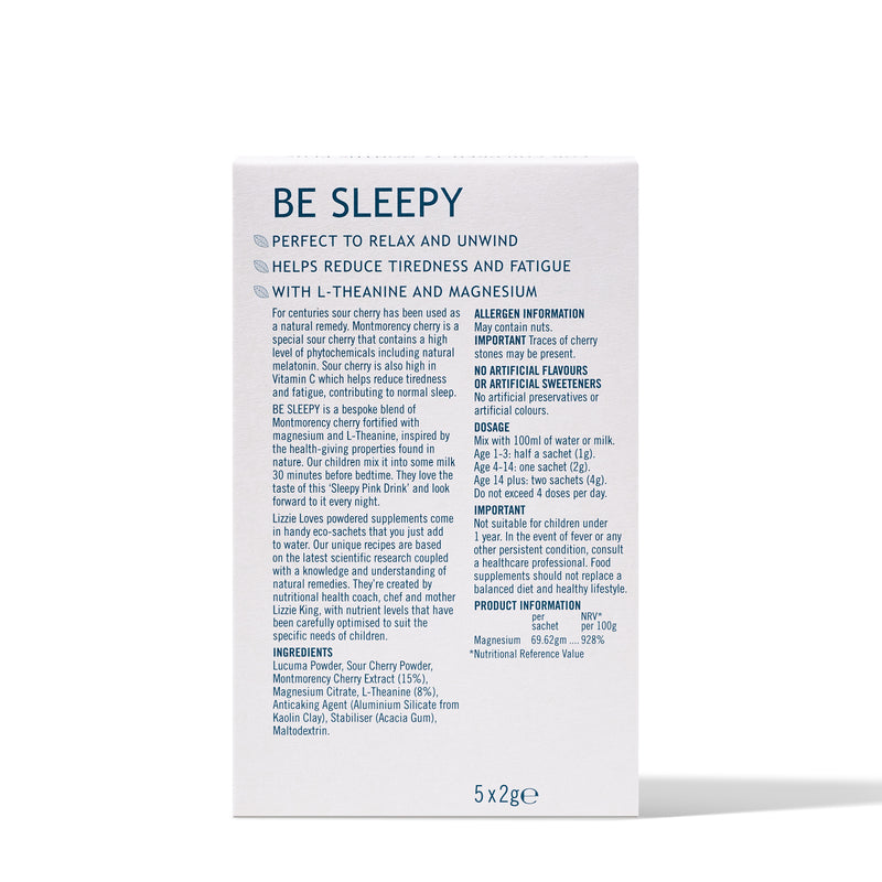 BE SLEEPY - TO HELP RELAX AND UNWIND