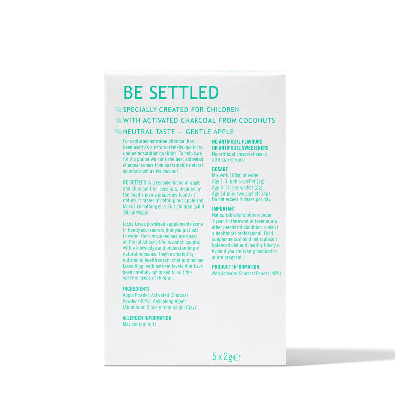 BE SETTLED - FOR UNSETTLED TUMMIES