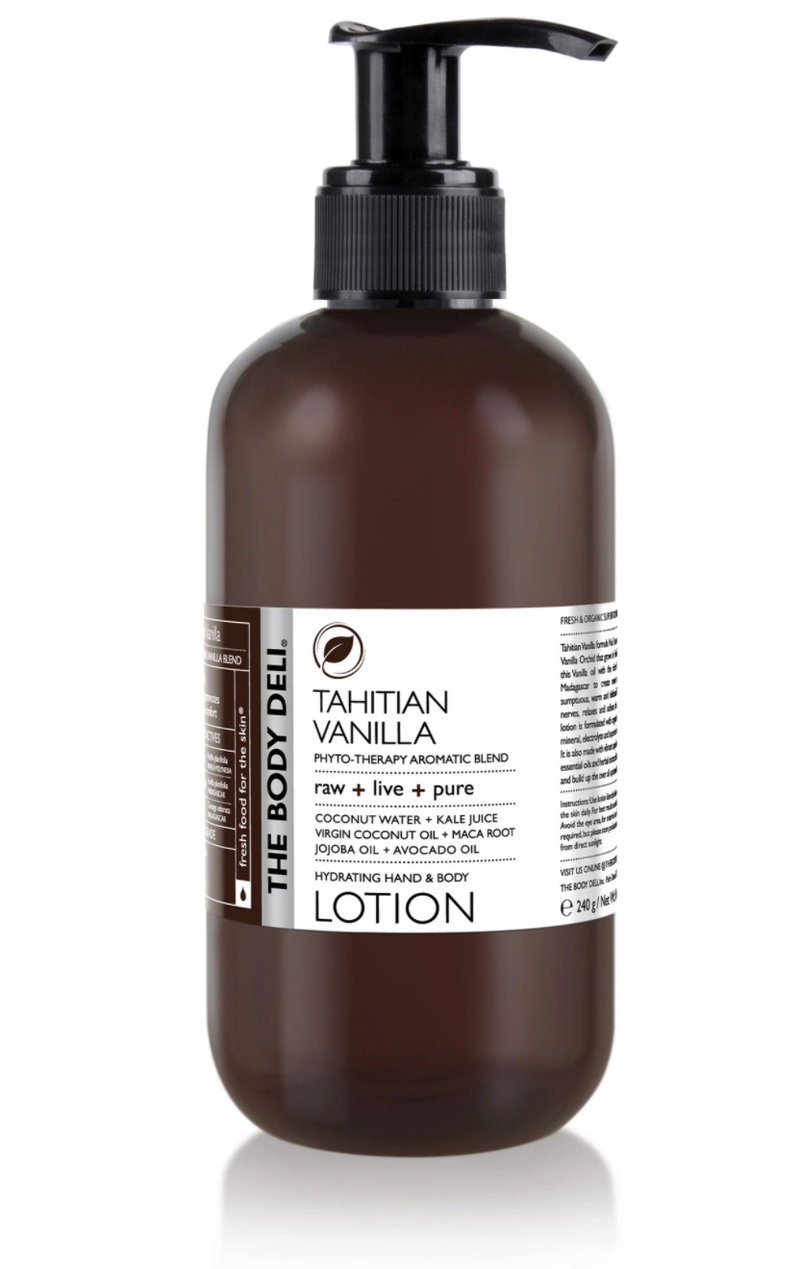 Tahitian Vanilla Hand & Body Lotion
