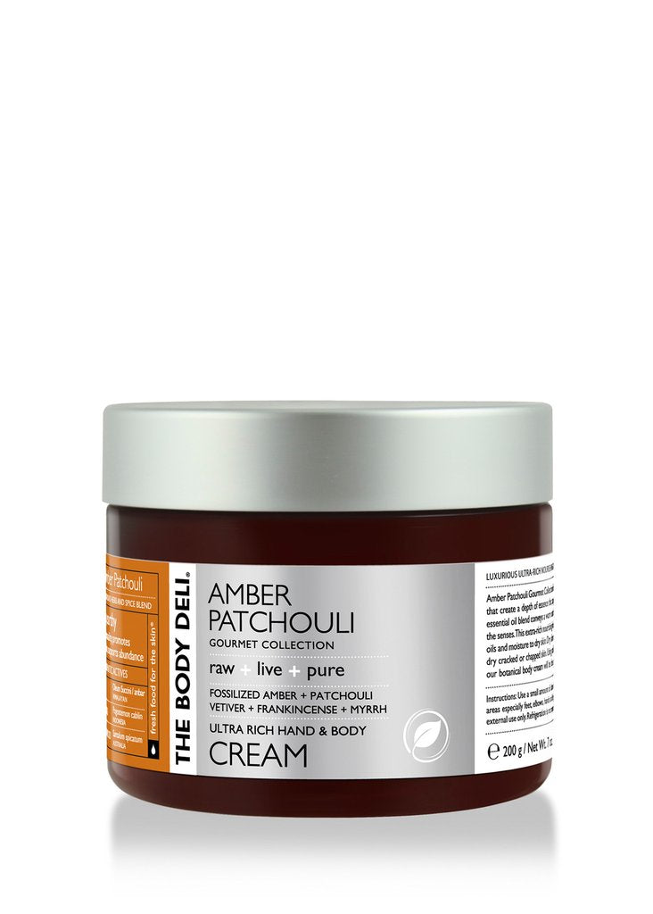 Amber Patchouli Hand & Body Cream
