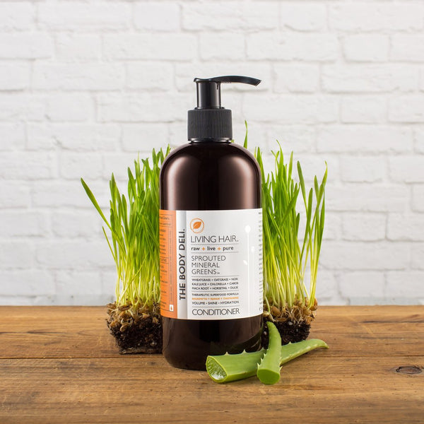 Living Hair Sprouted Greens Conditioner