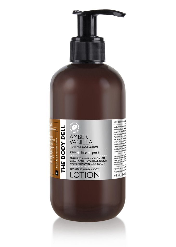 Amber Vanilla Hand & Body Lotion