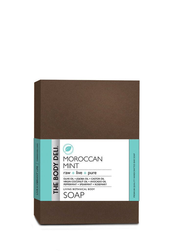 Moroccan Mint Botanical Bar Soap