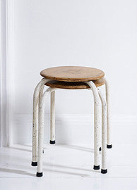 A Pair of Vintage Stools