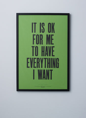 Anthony Burrill Print