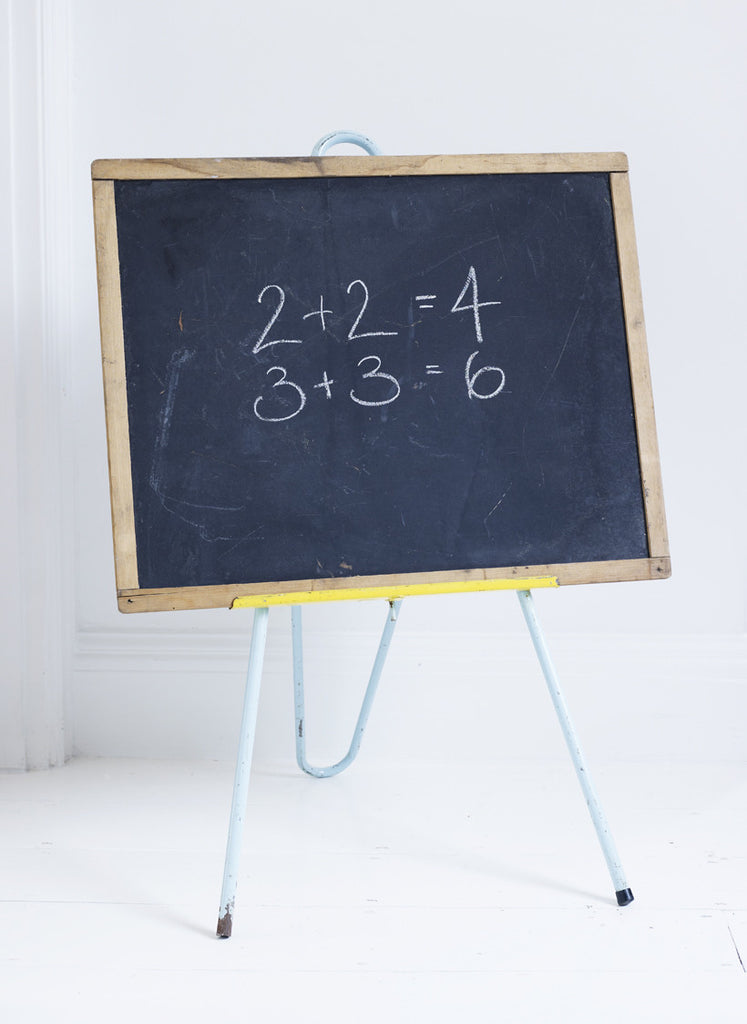Children's Blackboard and Easel