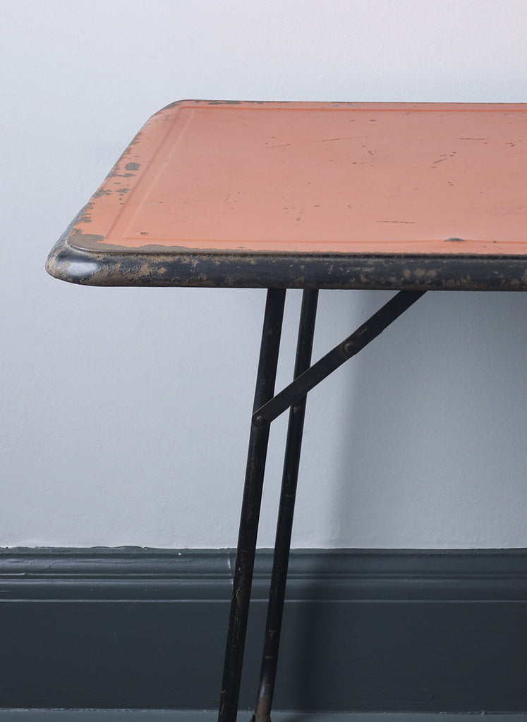 French vintage folding table