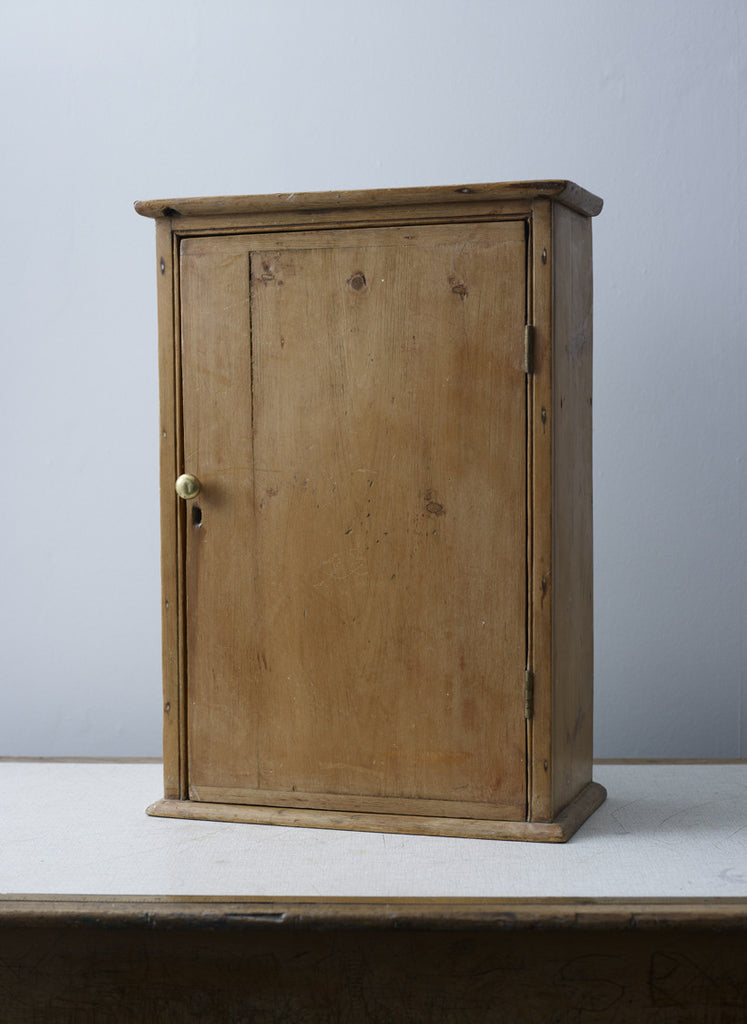 Antique Wooden Wall Cabinet