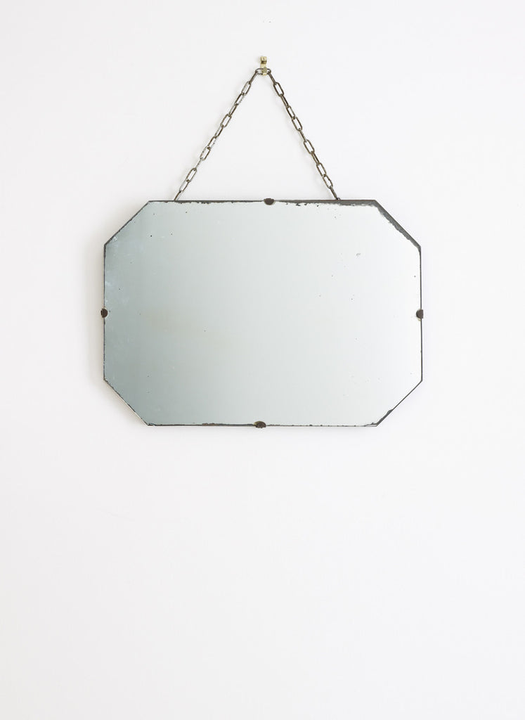 Small vintage wall mirror