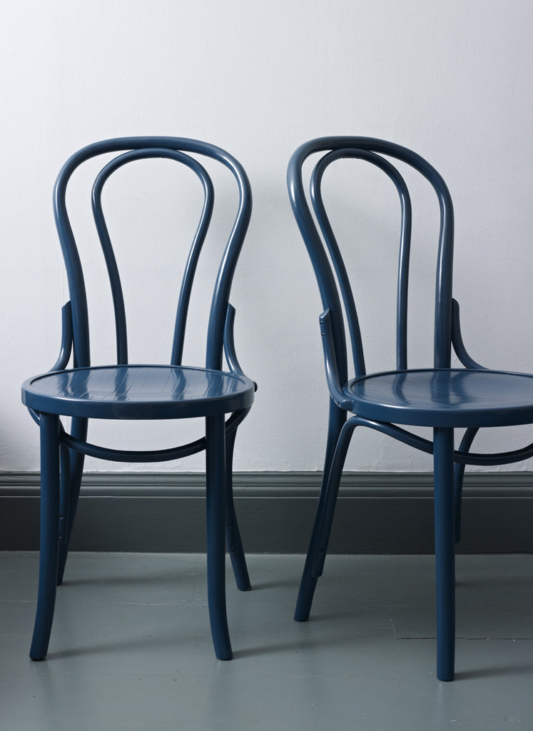 Bentwood Chairs - Hague Blue